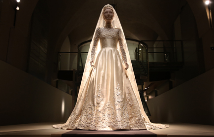 Wedding dress of Princess Marie Chantal of Greece