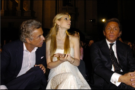 Gwyneth Paltrow and Valentino