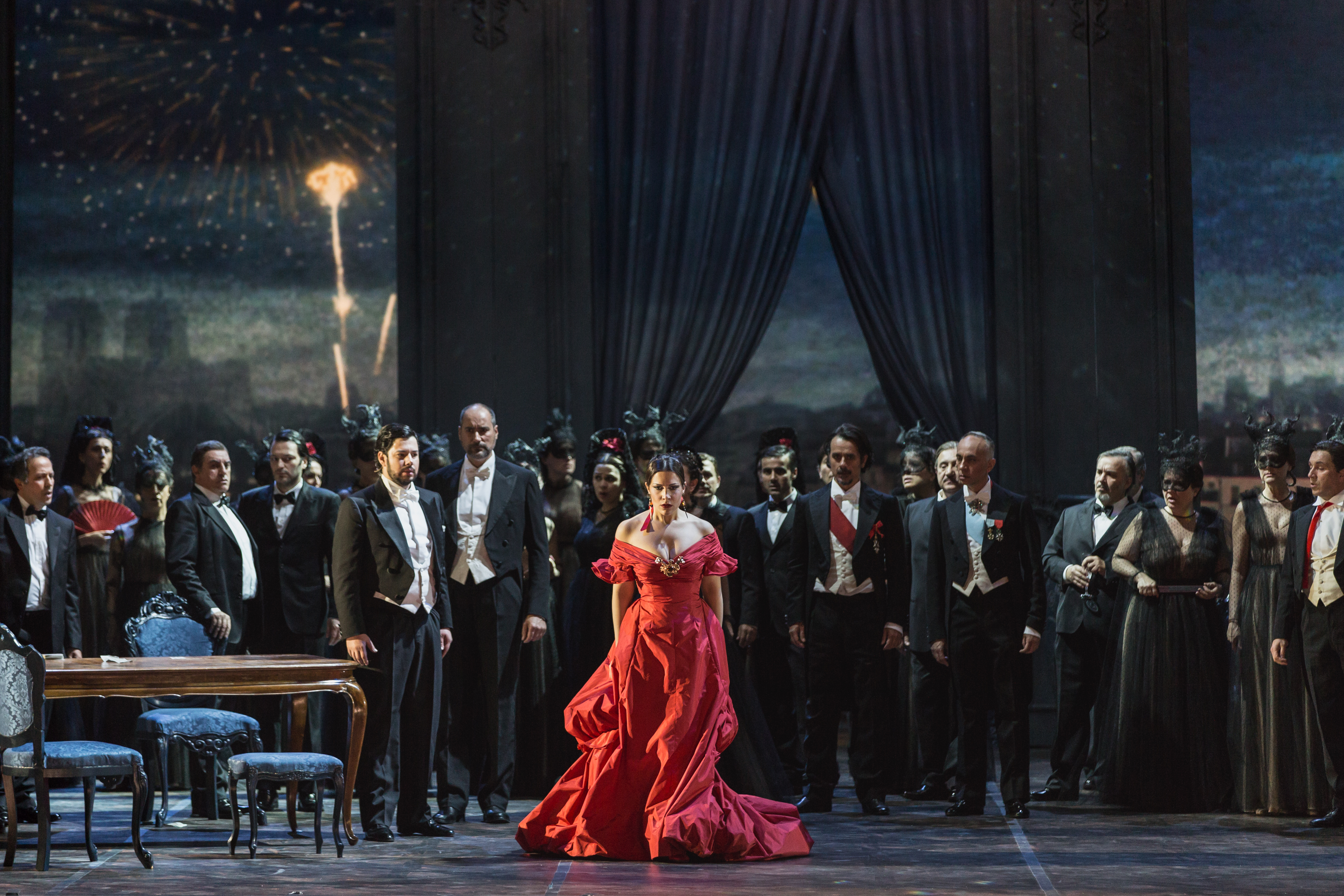 The debut of the new production of La Traviata at the Teatre dell?Opera di Roma marks a lot of firsts. This will be the first time, for instance, that soprano Francesca Dotto will be performing arias in four-inch heels. It?s a small detail, but a telling one: This is an opera unlike any other.