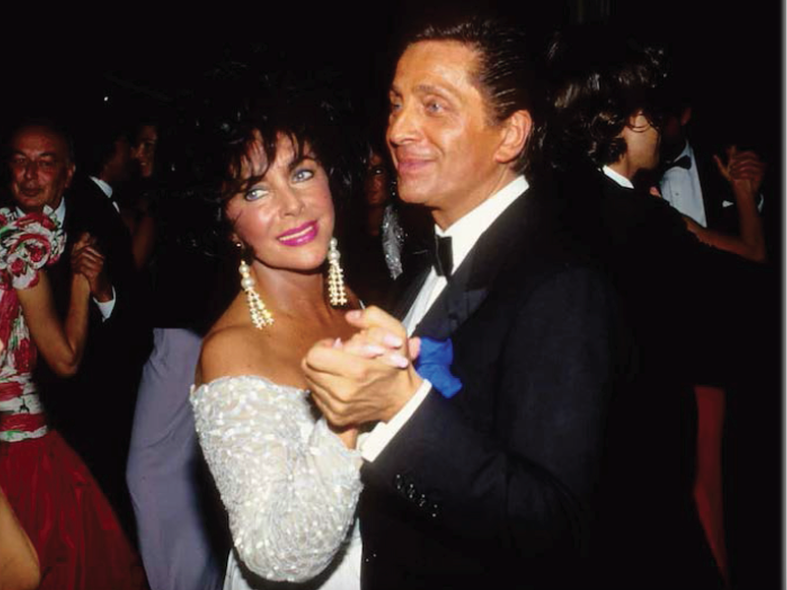 Elizabeth Taylor and Valentino