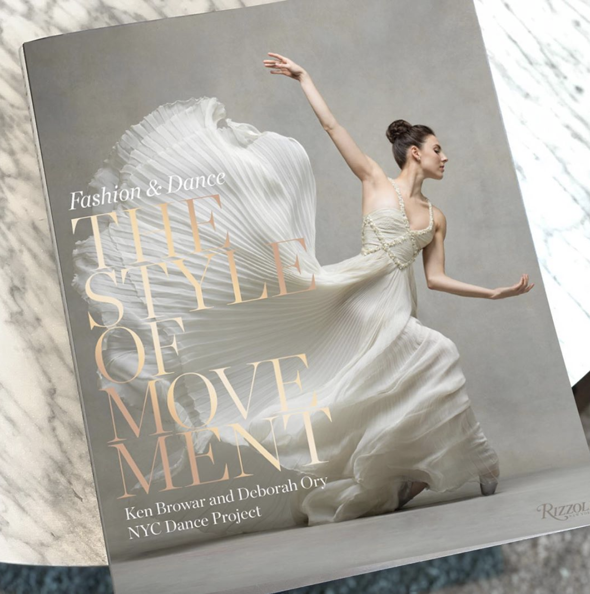 The Style of Movement (Rizzoli), the new book from husband-and-wife photo team Deborah Ory and Ken Browar, the duo behind NYC Dance Project.