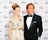 Sarah Jessica Parker and Valentino Garavani