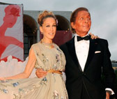 Sarah Jessica Parker and Valentino Garavani