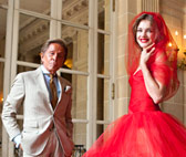 Valentino Garavani and Natalia Vodianova at Muse Nissim de Camodo in Paris, 2011  Kevin Tachman ( Kevin Tachman / BackstageAT)