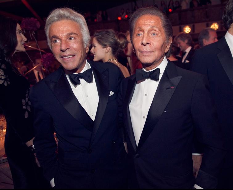 Valentino & Giancarlo Giammetti