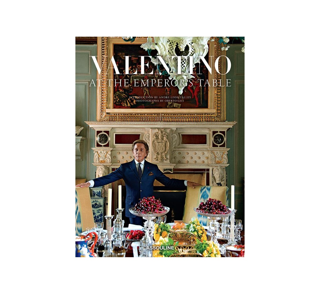 Valentino Discusses His Lavish New Cookbook With Tim Blanks.